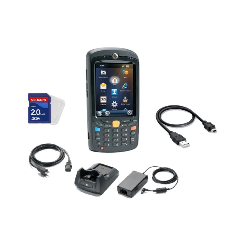 Auxilium Zebra Mc55a Kit With Accessories And 3 Year